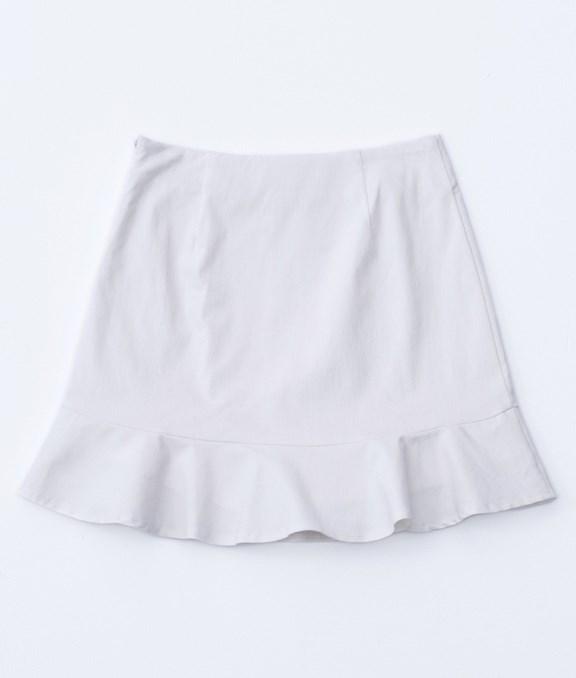 俏麗荷葉A字褲裙
