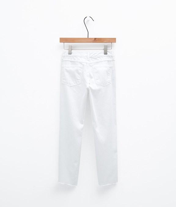 韓國休閒抓破牛仔褲