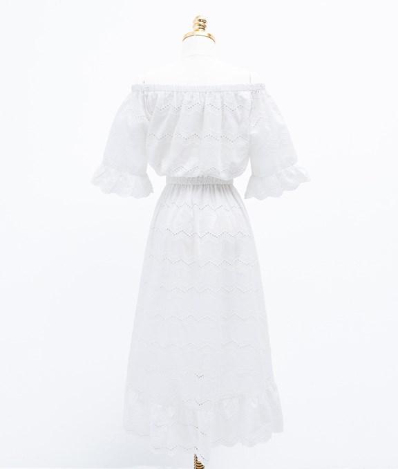 韓妞優雅飄逸前短後長洋裝