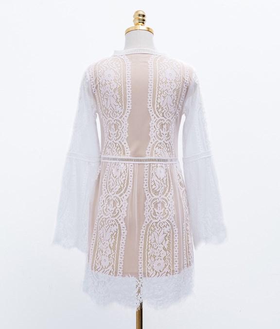 浪漫感飄逸蕾絲洋裝