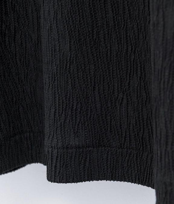 知性壓紋寬褲