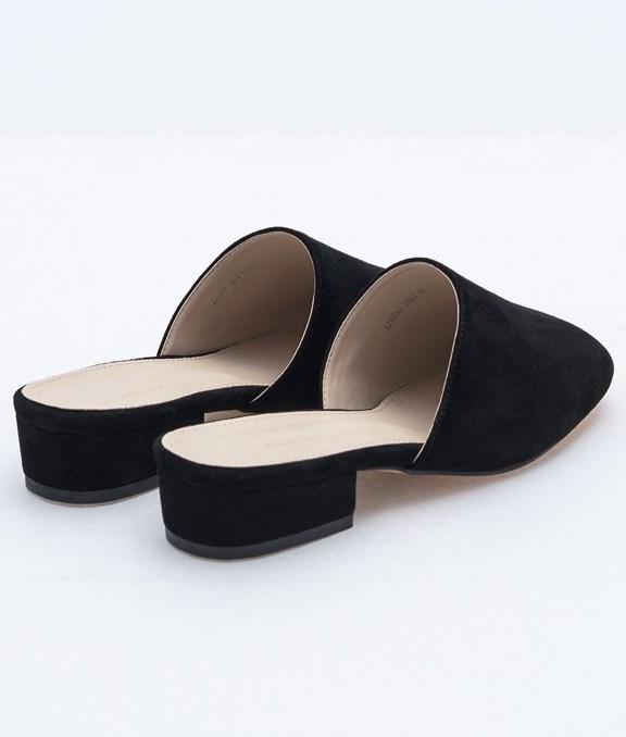 韓國春氛百搭麂皮涼鞋