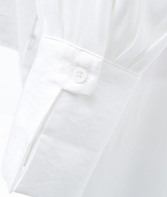 隨興慵懶感前短後長襯衫
