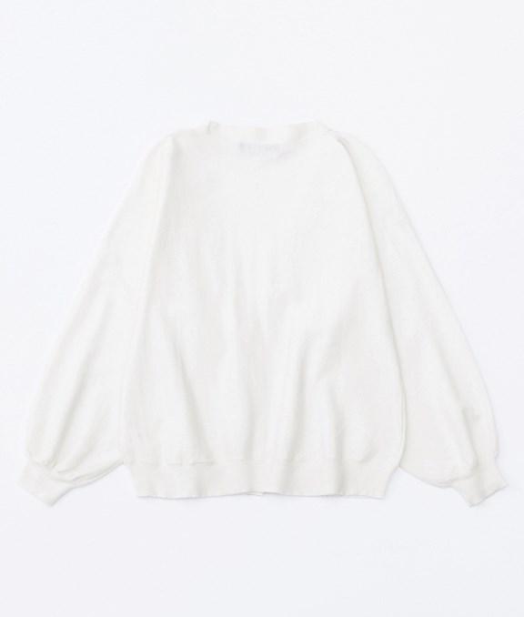 法式女孩蓬蓬袖針織外套