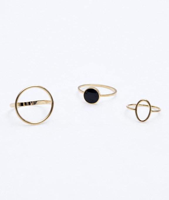 韓國Modern圓環戒指組合